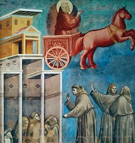 Святой Франциск в живописи Джотто