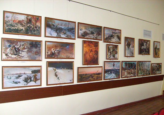 Великая Отечественная война 1941-1945 гг. глазами художников