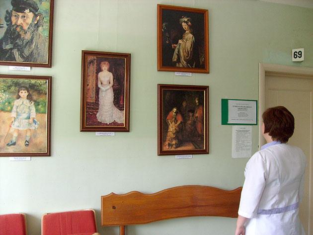 «Эрмитаж» в Центральной городской клинической больнице г. Ульяновска