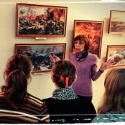 В «Причале надежды» открылась выставка, посвящённая 70-летию Великой Победы