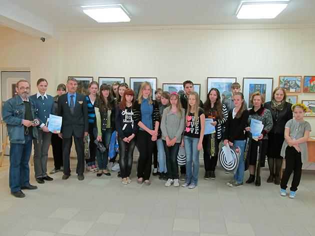 Подведены итоги выставки-конкурса молодых художников