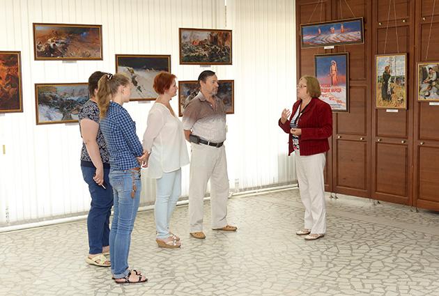 В музее Истории Авиастара открылась выставка, посвящённая 70-летию Великой Победы