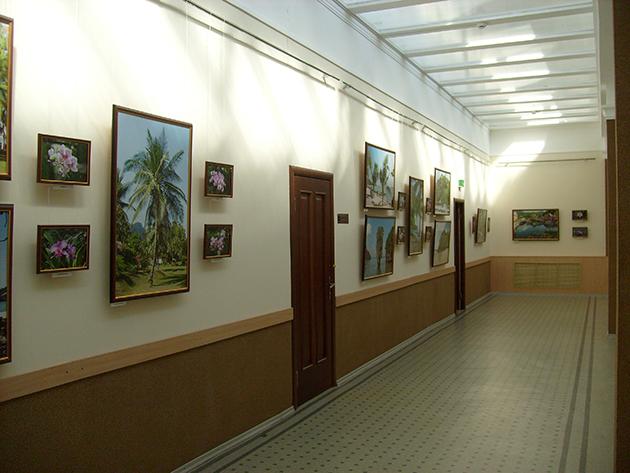 В администрации Заволжского района смена экспозиции