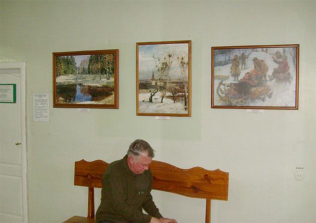 «Из музеев России» в Центральной городской клинической больницы г. Ульяновска