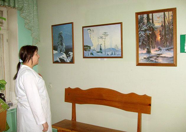 «Из музеев России» в Центральной городской клинической больнице города Ульяновска