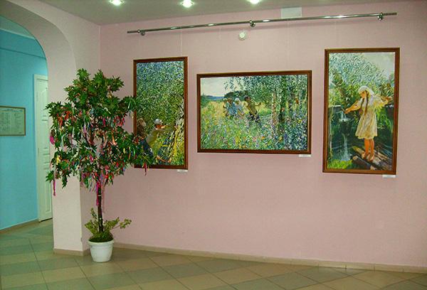 Выставка картин Аркадия Пластова в Центре здоровья «Перспектива»