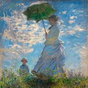 Моне Клод Оскар. Женщина с зонтиком