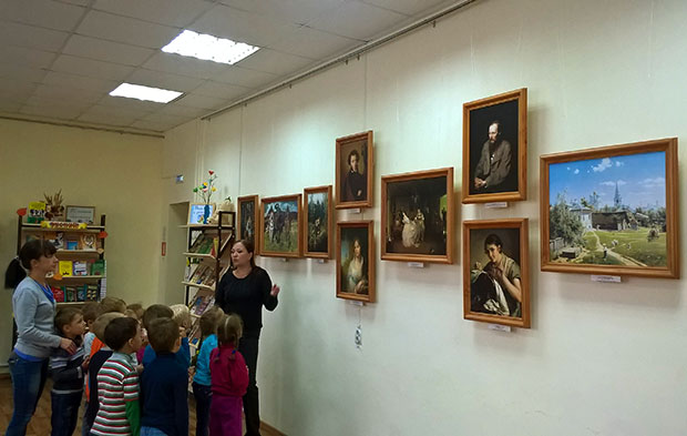 Из собрания Третьяковской галереи