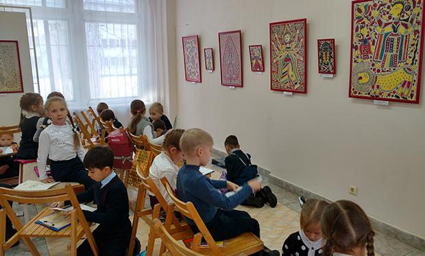 Ученики 72 школы в Радуге