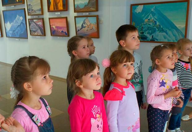 Воспитанники МБДОУ детский сад № 162